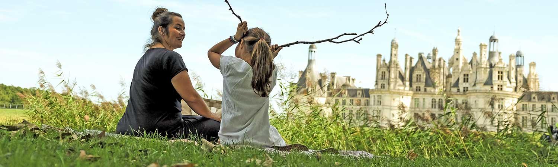 Ethic Etapes Sologne : visitez le Château de Chambord.