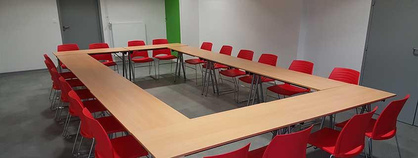 Ethic Etapes Romorantin vous propose du matériel adapté à vos séminaires ou réunions.