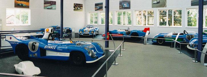 Exposition Peugeot au Musée Matra